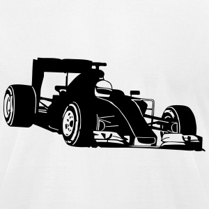 Formela One Racing T-Shirts - Men's T-Shirt by American Apparel
