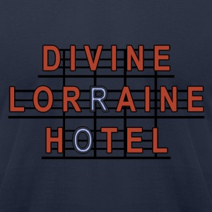 Divine Lorraine Hotel  T-Shirts - Men's T-Shirt by American Apparel