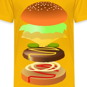 Hamburger - Toddler Premium T-Shirt
