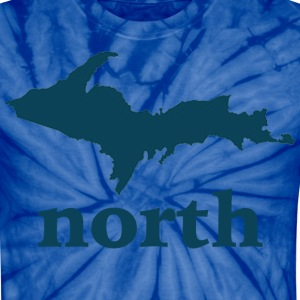 Up North U.P. Michigan T-Shirts - Unisex Tie Dye T-Shirt