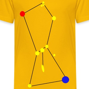 Orion Constellation with Nebula - Toddler Premium T-Shirt