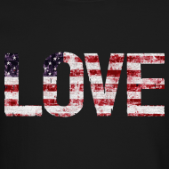 Design ~ USA Flag Love