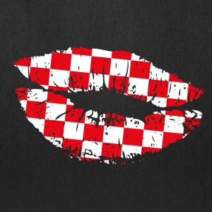 Croatia Kiss Mouth Bags & backpacks - Tote Bag