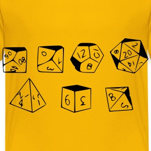RPG Dice - Toddler Premium T-Shirt