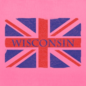 Wisconsin UK Flag Union Jack England Bags & backpacks - Tote Bag