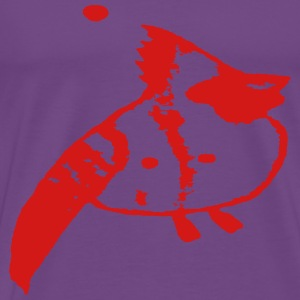 Red Purple Enigma Xeno - Men's Premium T-Shirt