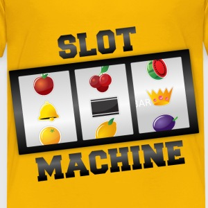 Slot Machine - Toddler Premium T-Shirt