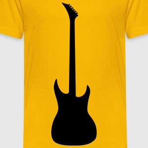 Guitar silhouette - Toddler Premium T-Shirt
