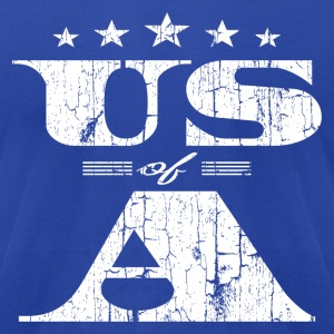 Vintage US of A 'Merica T-Shirts - Men's T-Shirt by American Apparel