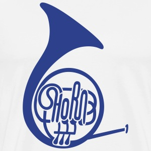 The French Horn T-Shirts - Men's Premium T-Shirt