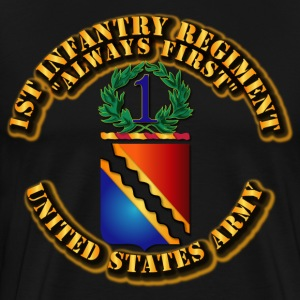 COA - 1st Infantry Regiment T-Shirts - Men's Premium T-Shirt