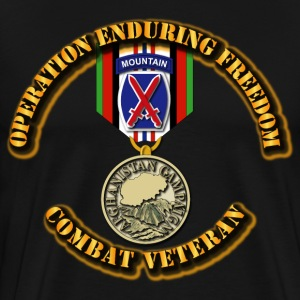 Operation Enduring Freedom - 10th Mountain Divisio T-Shirts - Men's Premium T-Shirt
