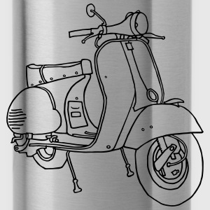 Motor scooter Mugs & Drinkware - Water Bottle