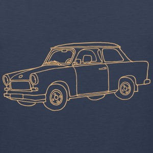 Car Trabant Tank Tops - Men's Premium Tank