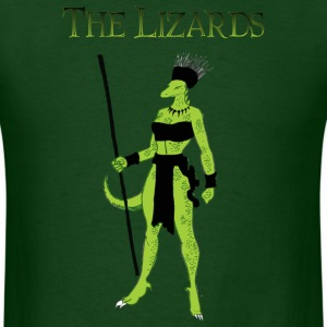 The Lizards T-Shirts - Men's T-Shirt