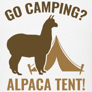 Alpaca Tent - Men's T-Shirt