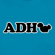 Design ~ ADHD Squirrel - Women's T-shirt
