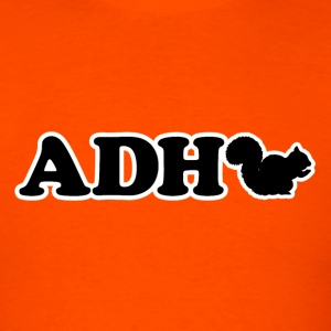 Funny ADHD Squirrel - Men's T-Shirt