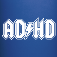 Design ~ ADHD ACDC Logo - Coffee Mug