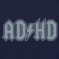 Design ~ ADHD ACDC Logo - Kid's T-shirt