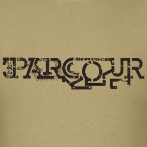 be parcour us T-Shirts - Men's T-Shirt