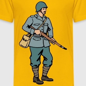 Italian soldier of WW2 - Toddler Premium T-Shirt