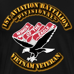 1st Aviation Battalion(Divisional)-No-SVC-Ribbon T-Shirts - Men's Premium T-Shirt