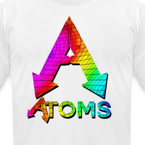 rainbow T-Shirts - Men's T-Shirt by American Apparel