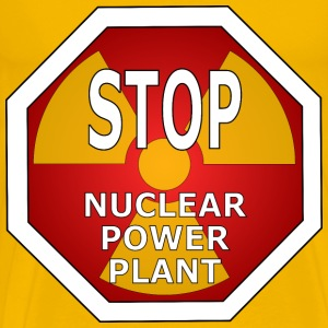 Stop nuclear power plant - Men's Premium T-Shirt