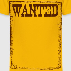 Wanted frame - Toddler Premium T-Shirt