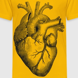 Anatomical Heart - Toddler Premium T-Shirt