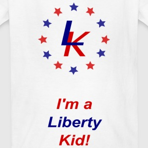 The Liberty Kid Independence - Kids' T-Shirt