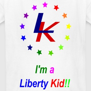Liberty Kid Rainbow  - Kids' T-Shirt