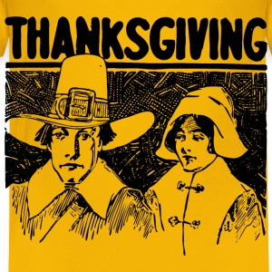 Thanksgiving Pilgrims - Toddler Premium T-Shirt