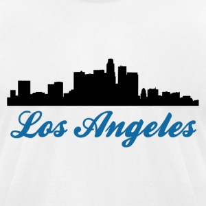 Los Angeles Silhouette 3  - Men's T-Shirt by American Apparel