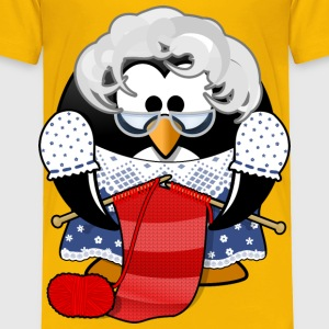 Grandma Penguin - Toddler Premium T-Shirt