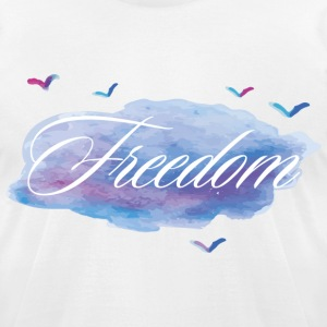 Freedome - Men's T-Shirt by American Apparel