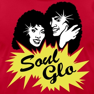 Soul Glo Afro Funk & Disco T-Shirts - Men's T-Shirt by American Apparel