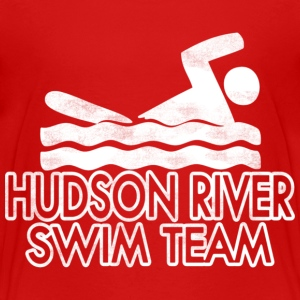 Funny Hudson River Swim Team Baby & Toddler Shirts - Toddler Premium T-Shirt
