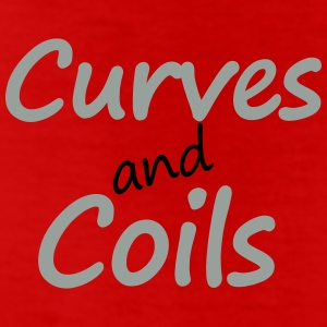 Curves and Coils Leggings - Leggings by American Apparel