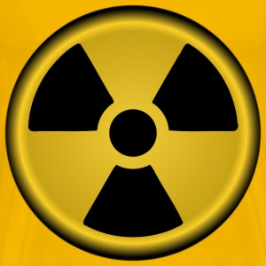 Radiation symbol nuclear - Men's Premium T-Shirt