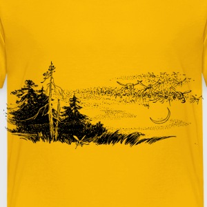 Moskitos in the woods - Toddler Premium T-Shirt