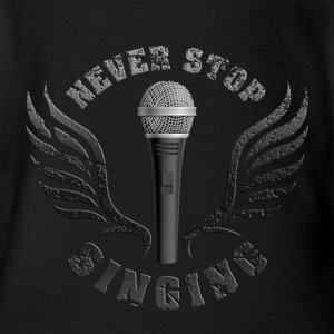 microphone_singer_062015_a Baby & Toddler Shirts - Short Sleeve Baby Bodysuit
