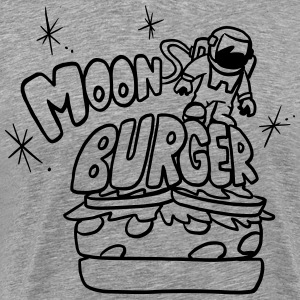 MoonBurgers1ColorBurgerBun T-Shirts - Men's Premium T-Shirt