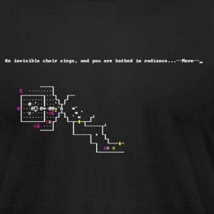 Nethack Ascension - Men's T-Shirt by American Apparel