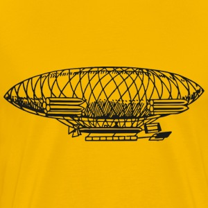 Vintage airship - Men's Premium T-Shirt