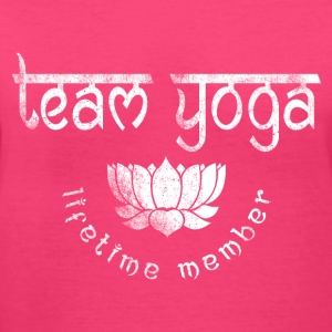 Vintage Yoga Team Women's T-Shirts - Women's V-Neck T-Shirt