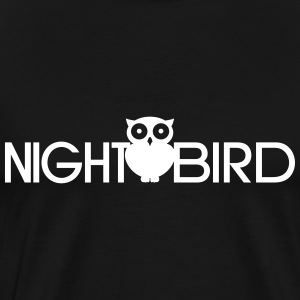 Night Bird T-Shirts - Men's Premium T-Shirt