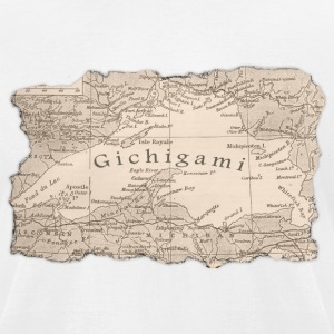 Gichigami Lake Superior Great Lakes T-Shirts - Men's T-Shirt by American Apparel