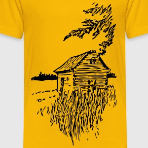 Cabin On The Plains - Toddler Premium T-Shirt